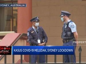 Kasus Covid-19 Meledak, Sydney Lockdown