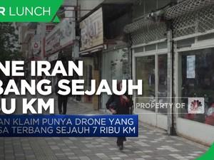Iran Klaim Punya Drone yang Bisa Terbang Sejauh 7 Ribu KM