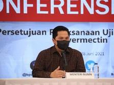 Erick Buka-bukaan Soal Vaksinasi Gotong Royong Individu