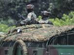Potret Polisi India Perketat Penjagaan Usai Serangan Drone