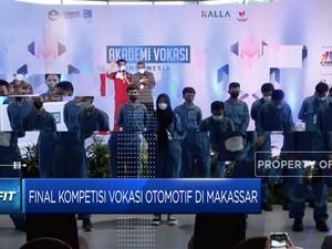 Simak Nih! Final Kompetisi Vokasi Otomotif Di Kota Makassar