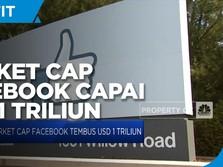 Kapitalisasi Pasar Facebook Tembus USD 1 Triliun