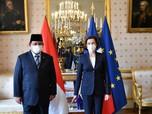 When Prabowo in Paris, Gaya Menhan Teken DCA RI & Prancis