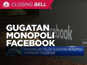Pengadilan Tolak Gugatan Monopoli Terhadap Facebook