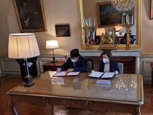 Prabowo Teken Kerja Sama Pertahanan RI & Prancis, Apa Isinya?