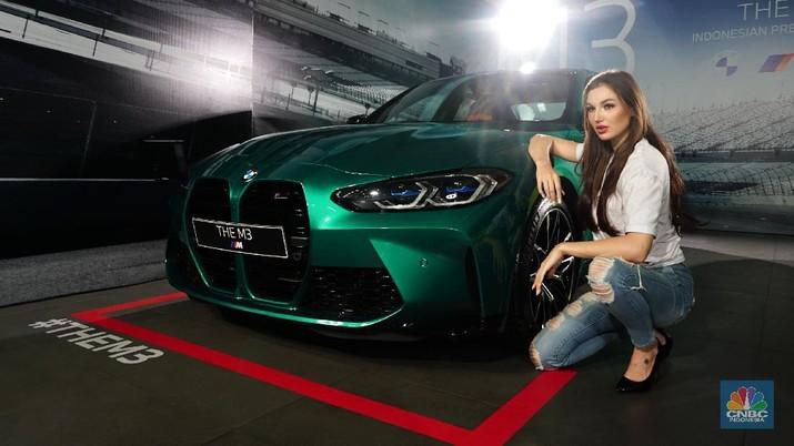 BMW M3 (CNBC Indonesia/ Tri Susilo)