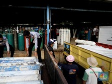 Erick Thohir 'Sulap' Beberapa Pabrik BUMN Produksi Oksigen