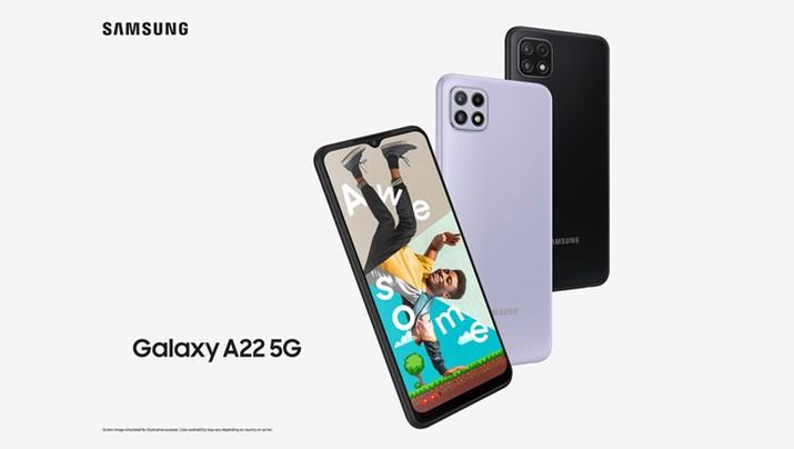 Samsung A22 5G. (Dok. Samsung)