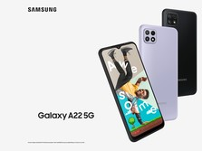 Mengintip Jeroan Spek Samsung Galaxy A22 5G