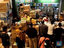 Curhat Bos Pedagang Pasar Pramuka Soal Stok Obat Terapi Covid