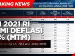 BPS: RI di Bulan Juni 2021 Alami Deflasi 0,16% (mtm)