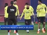 Lionel Messi Hengkang dari Barcelona