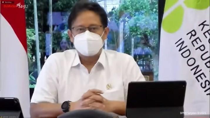 Menteri Kesehatan Budi Gunadi Sadikin (Tangkapan Layar Youtube)