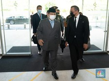 Gaya Prabowo 'Empat Mata' dengan Bos WHO