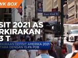 Defisit 2021 Amerika Diperkirakan Capai USD 3 Triliun