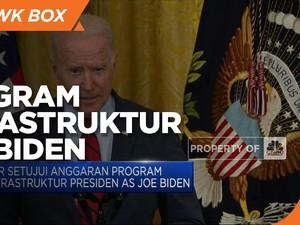 DPR AS Setujui Anggaran Program Infrastruktur Joe Biden