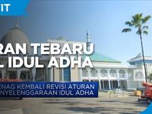 Kemenag Kembali Revisi Aturan Penyelenggaraan Idul Adha