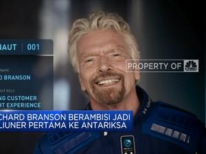 Richard Branson Berambisi Jadi Miliuner Pertama Ke Antariksa