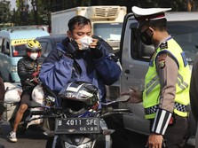 Imbas Penyekatan PPKM Darurat, Ojol Kesusahan Antar Barang