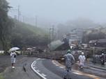 Ngeri! Begini Penampakan Jepang Diterjang Longsor