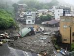 Potret Longsor di Jepang Akibat Hujan Deras, 20 Orang Hilang