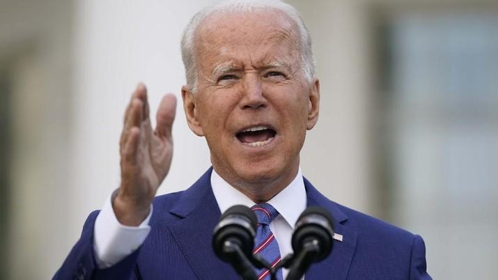 Biden gelar pesta di gedung putih. (AP/Patrick Semansky)