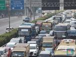 Potret Kemacetan Parah Tol Dalam Kota Gegara PPKM Darurat