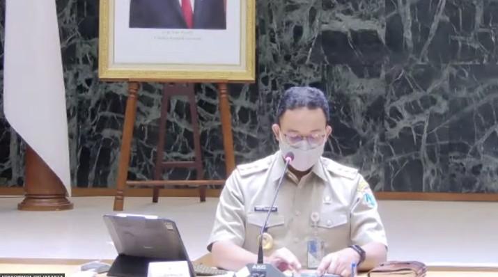Konferensi Pers Virtual PPKM Darurat Jawa - Bali