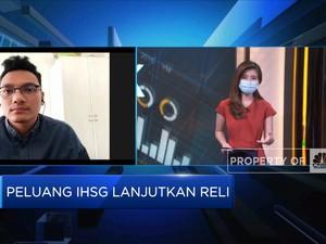 PPKM Diberlakukan, IHSG Awal Pekan Dibuka di Zona Hijau