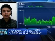 Bangkit di Tengah PPKM Darurat, IHSG Berhasil Ditutup Menguat