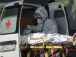 Rekor Lagi! Kasus Kematian Akibat Covid-19 di Rusia 'Meledak'