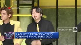 Lagu BTS Menang Voting Opening Final Euro 2020