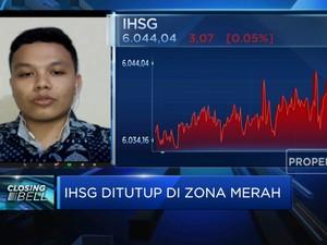 Perdagangan Sepi, IHSG Kembali Ditutup di Zona Merah