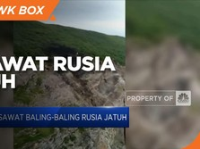 Pesawat Baling-baling Rusia Jatuh