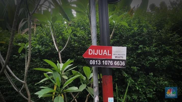 Ilustrasi rumah di kawasan Pondok Indah, Jakarta. (CNBC Indonesia/Muhammad Sabki)