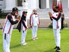 Tak ada Keriaan, Jokowi Lepas Kontingen RI ke Olimpiade Tokyo