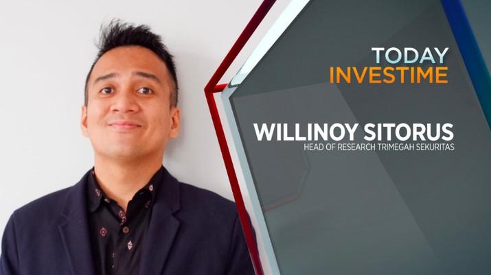 Willinoy Sitorus, Head of Research PT Trimegah Sekuritas