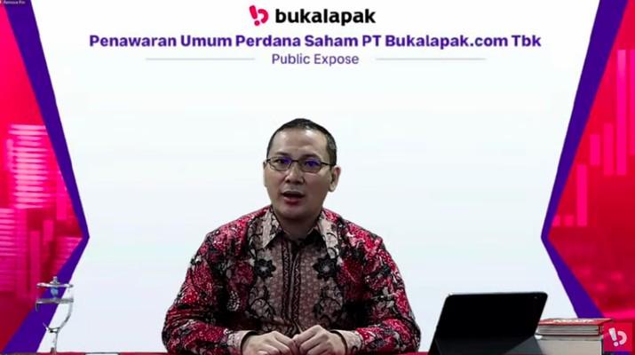 CEO Bukalapak Rachmat Kaimuddin