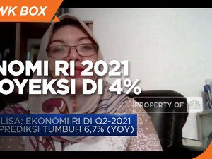 Imbas PPKM Darurat, Ekonom Proyeksi PDB RI 2021 di 4%