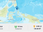 Siaga! Rentetan Gempa Susulan Hantam Kepulauan Talaud Sulut