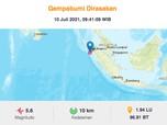 Usai Sulut, Giliran Nias Utara Diguncang Gempa M 5,6