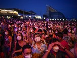 Lautan Manusia, Potret Konser Musik Wajib Masker di Spanyol
