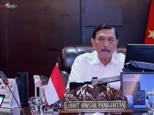 Pesan Jokowi ke Luhut: Jangan Sampai Ada yang Gak Bisa Makan!