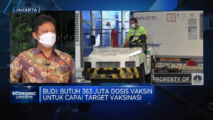 Menkes BGS: Pemulihan Kesehatan jadi Kunci Perbaikan Ekonomi RI(CNBC Indonesia TV)