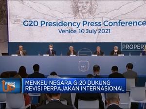 Menkeu Negara G-20 Dukung Revisi Perpajakan Internasional