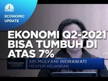 Optimisme Sri Mulyani, Ekonomi Q2-2021 Bisa Tumbuh di Atas 7%