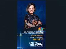 Live Streaming: Sri Mulyani Buka-bukaan Update Ekonomi RI