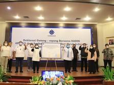 Kemnaker, Apindo, Kadin dan Pekerja Deklarasi Gotong Royong