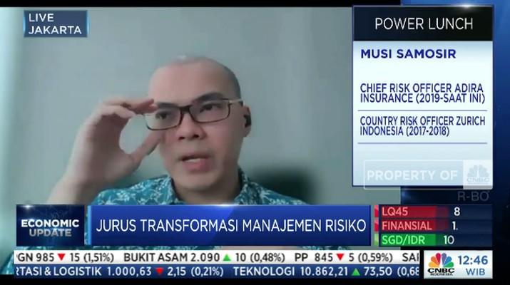 Chief Risk Officer Adira Insurance Musi Samosir