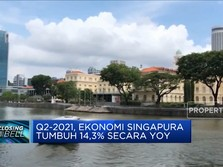 Q2-2021, Ekonomi Singapura Tumbuh 14,3% (yoy)